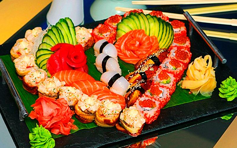 суши и роллы с доставкой на дом