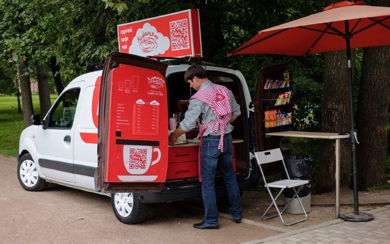 мобильная кофейня