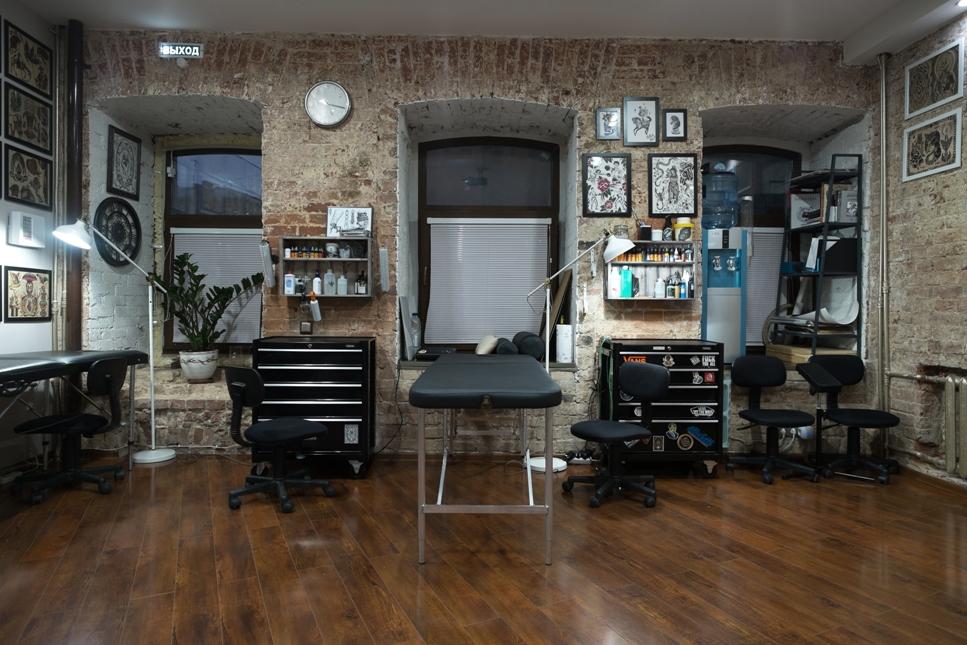 салон для татуировок