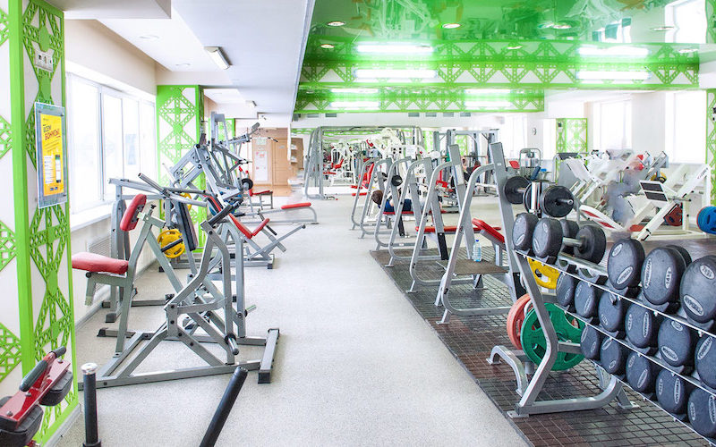 фитнес-центр изнутри