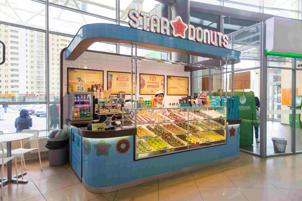 продажа пончиков