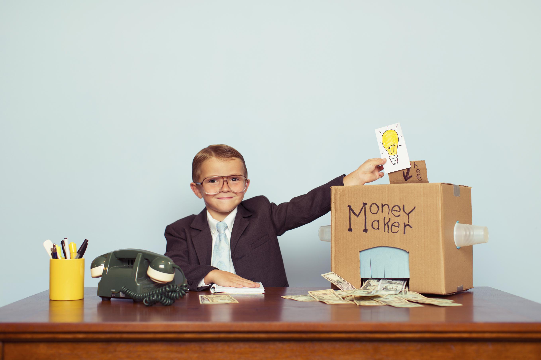 бизнес для подростков