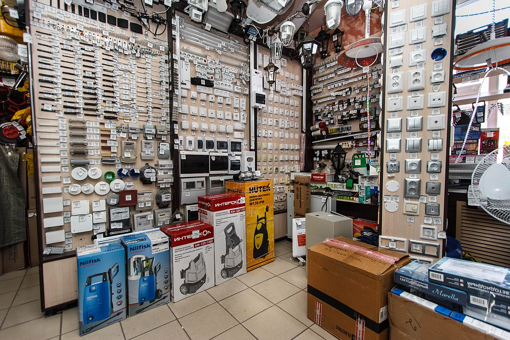 Как открыть магазин электротоваров